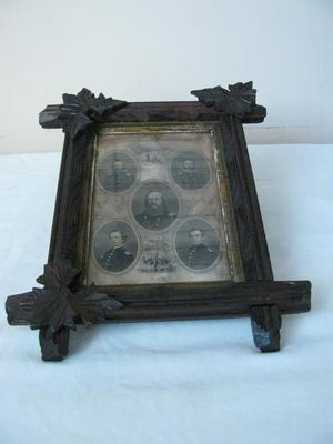 Framed Print, First Regiment Of Michigan Engineers