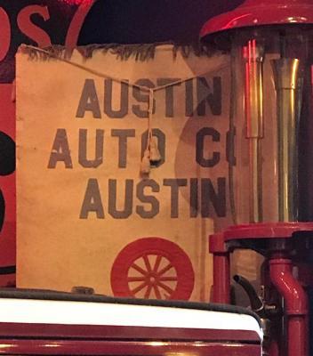 Banner, 'Austin Motor Co.'