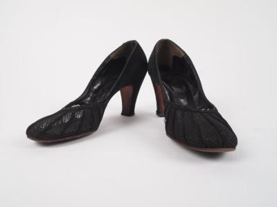 Shoes, Pair, Black Pumps