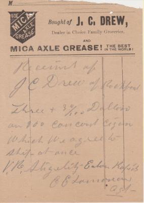 Archival Collection #175 - J.C. Drew