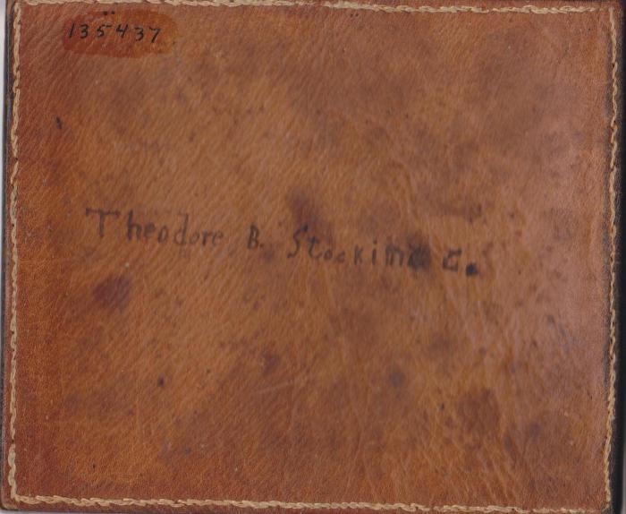 Archival Collection #171 - Billius Stocking