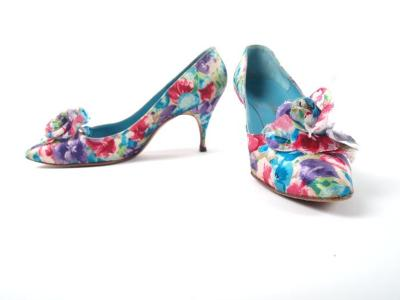 Shoes, Multi-colored Heels