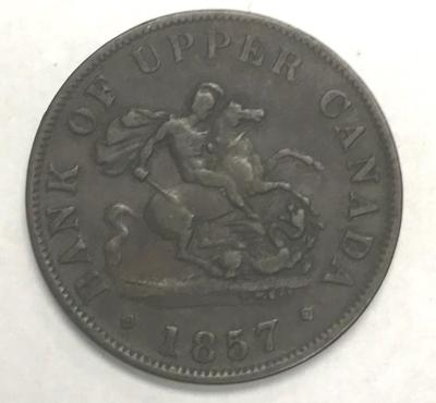 Coin, Agriculture And Commerce, Bas Canada