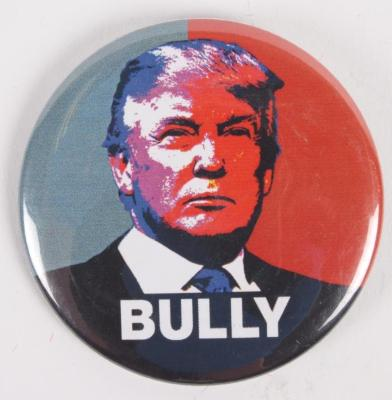 "Political Pin, Donald Trump ""Bully"""