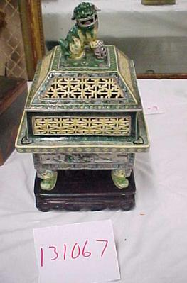 Incense Burner With Stand (3 Pcs.)