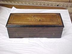 Music Box With Marquetry Top