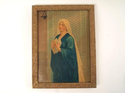 Print, Chromolithograph, The Mother of Our Lord