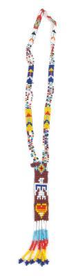 Rosette Beaded Necklace