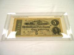 Facsimile, $5.00 Note, Confederate States Of America