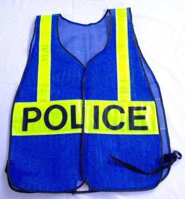 Police Uniform Accessory, Reflective Traffic Safety Vest