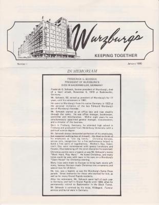 Newsletter, Wurzburg's
