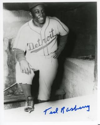 Photograph, Autographed, Ted Rasberry