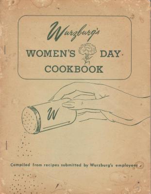 "Book, Wurzburg's Women Day Cookbook"""