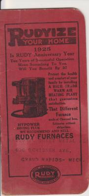 Booklet, Advertising