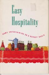 Booklet, 'easy Hospitality'
