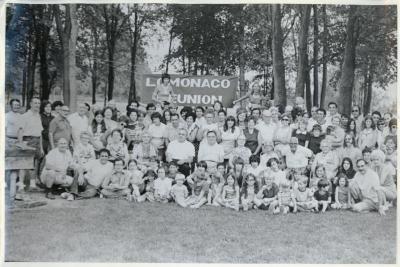 Photograph, The Lomonaco Family Reunion, The Donajean Vitale Archival Collection #133