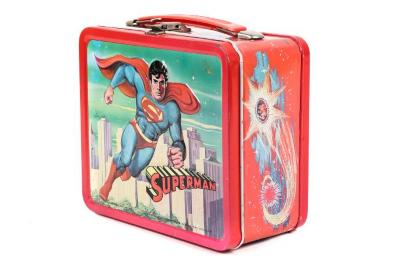 Lunch Box, Superman With Thermos Bottle