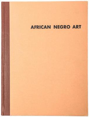 Book, African Negro Art