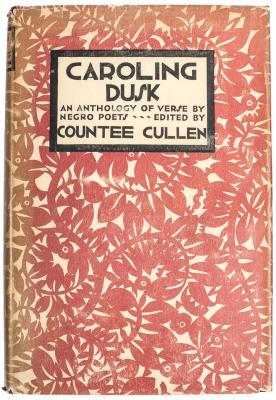 Book, Caroling Dusk: An Anthology of Verse by Negro Poets