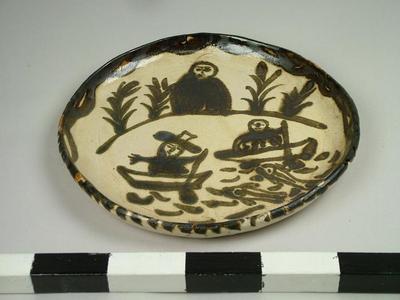 Plate, Lake Patzcuaro