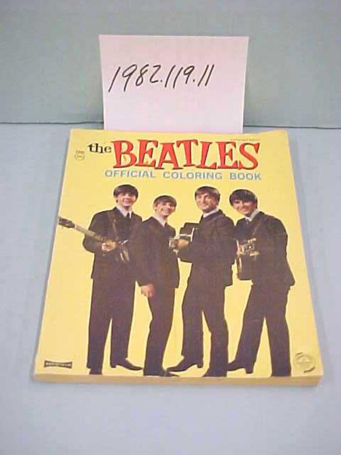 Grand Rapids Public Museum Collections : Artifact : The Beatles Coloring  Book [1982.119.11]