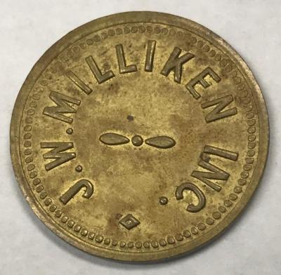 Token, J. W. Milliken, Inc.