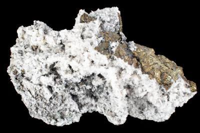 Calcite and Chalcopyrite