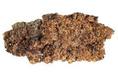 Copper with Native Silver