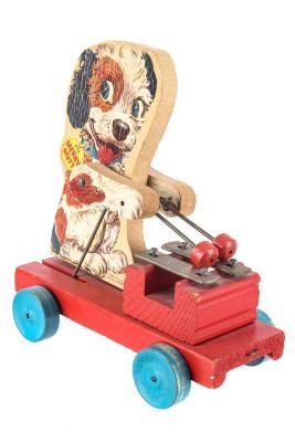 Merry Mutt Pull Toy