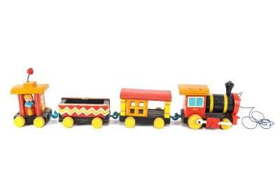 Huffy Puffy Train Pull Toy