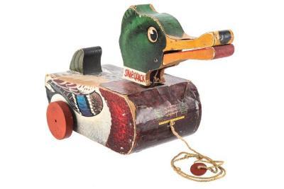 Snap-Quack Pull Toy