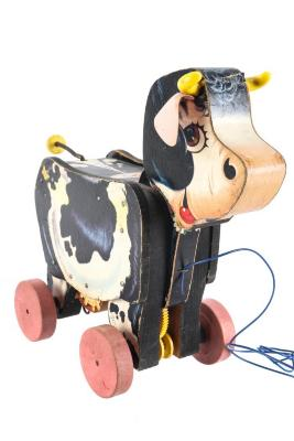 Moo-oo Cow Pull Toy