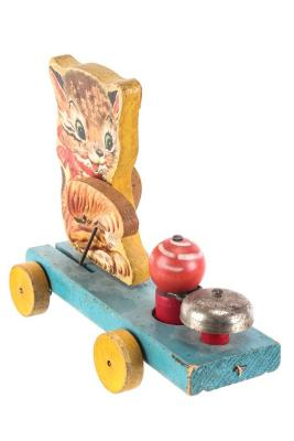 Kitty Bell Pull Toy