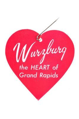 Wurzburg Heart Pin