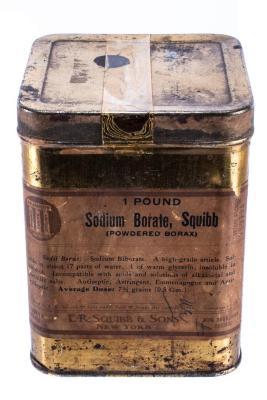 Pharmaceutical, Sodium Borate