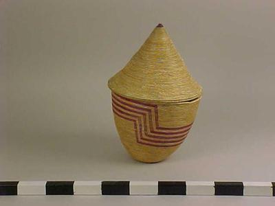 Basket, Seed With Lid
