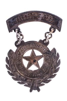 Women's Suffrage Medal