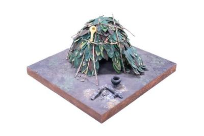 Model, African Pygmy Hut