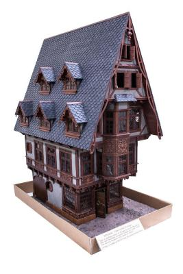 Model, Medieval Town House