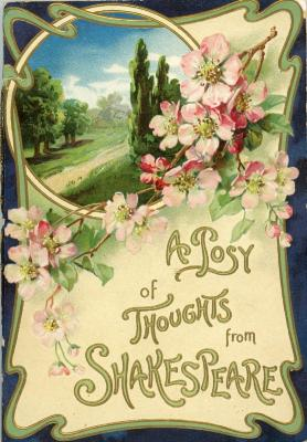 Booklet, 'a Posy Of Thoughts From Shakespeare'