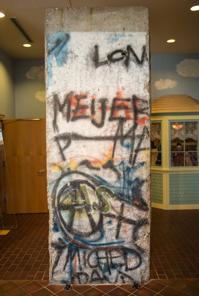 Berlin Wall, Section
