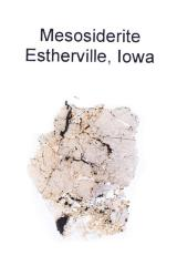Esterville Meteorite (thin Section)
