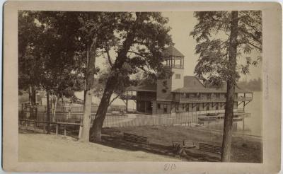 Photograph, Exterior Of O-wash-ta-nong Club House