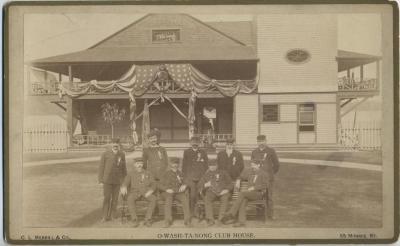 Photograph, O-Wash-Ta-Nong Club House Exterior