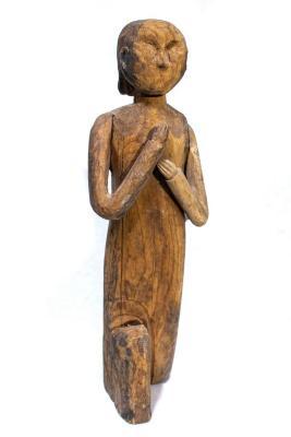 Ottawa Catholic Praying Man Figure .2, Creche Or Nativity Piece