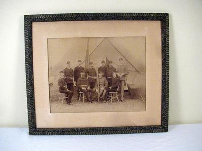 Photograph, Men Of The 1st Michigan Engineers And Mechanics