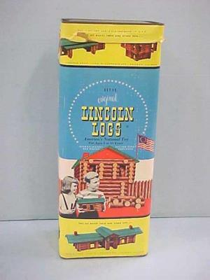 Lincoln Logs Building Set