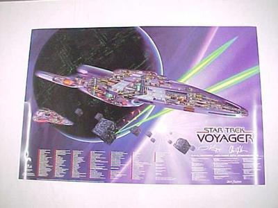 Poster, Star Trek Voyager