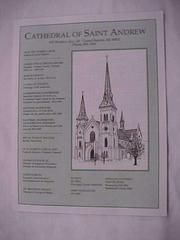 Newsletter, The Cathedral Of St. Andrew, Bilingual English And Spanish Edition