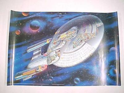 Poster, Next Generation Uss Enterprise Ncc-1701-d